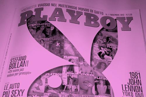 Anche su Playboy.